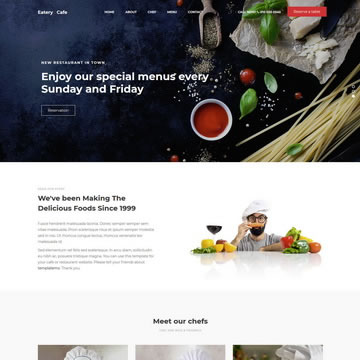 Eatery Template