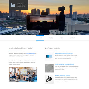 Business Oriented Template